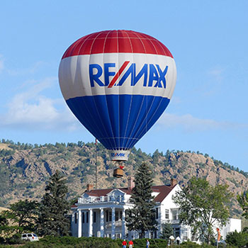Indoor and outdoor advertising for Remax 360 Agency