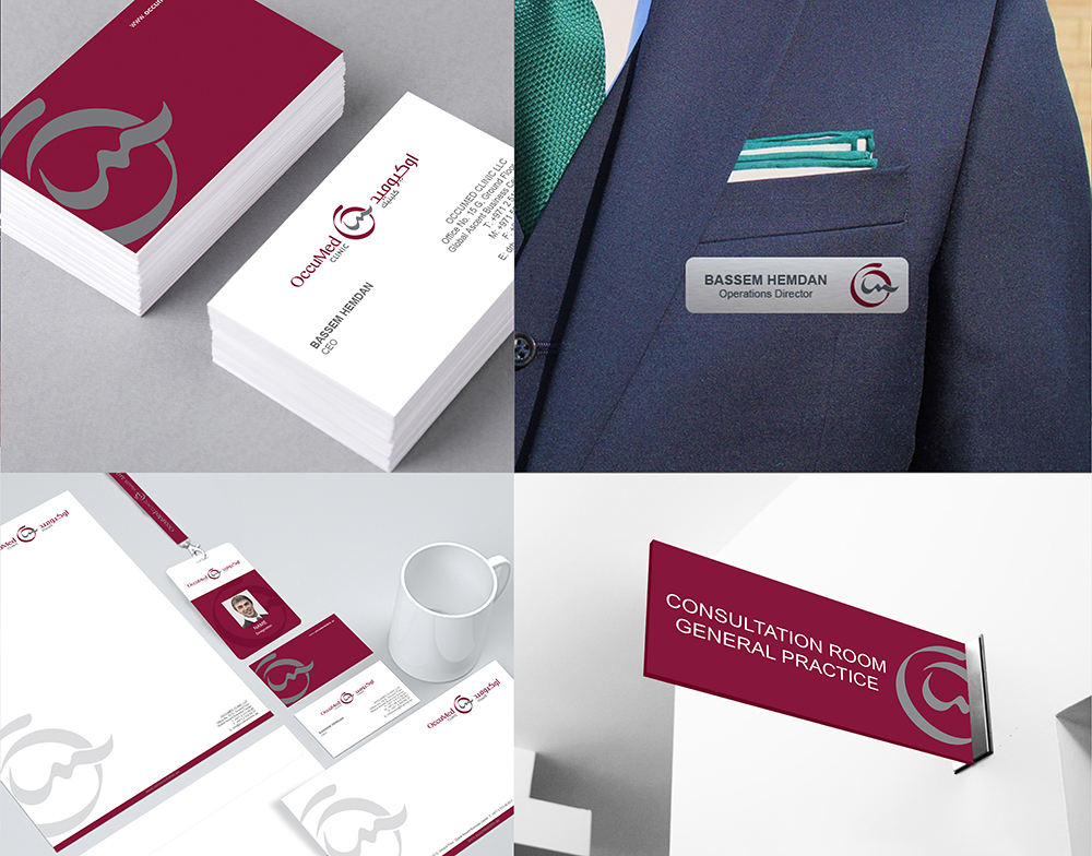 Corporate Identity and Graphic Design Abu Dhabi